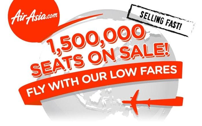Vuelos de bajo coste en Asia con AirAsia: desde 14 a 99 dolares
