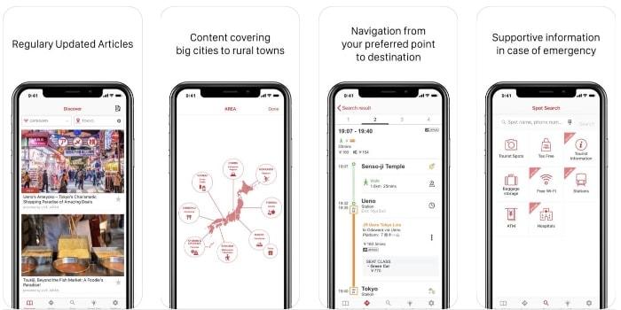 Japan Oficial Travel app