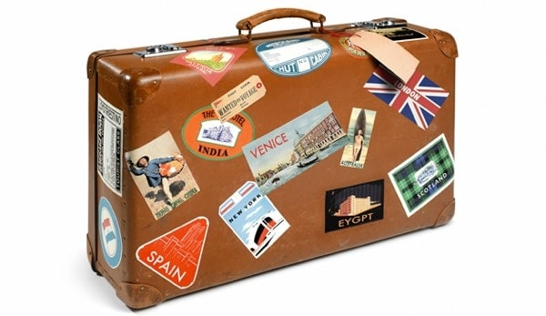 viajar con gemelos: la maleta