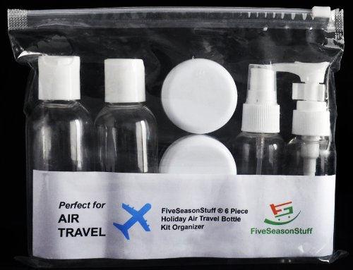 Botes y frascos para subir al avión con nosotros