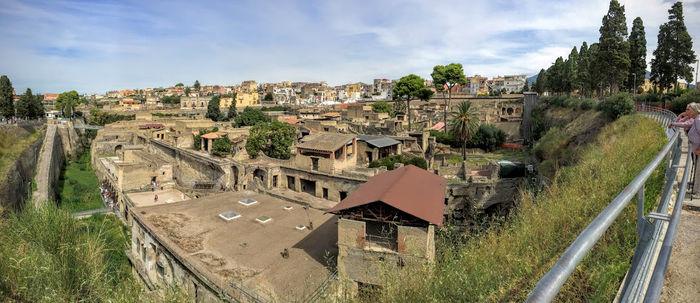 Viaje a Roma y Nápoles con dos niñas gemelas: Herculano – Día 6