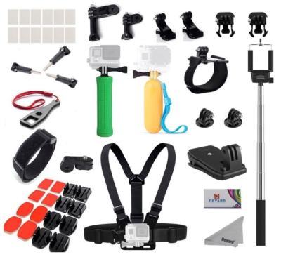 DEYARD - Set de Accesorios para GoPro y otras Cámaras de Acción