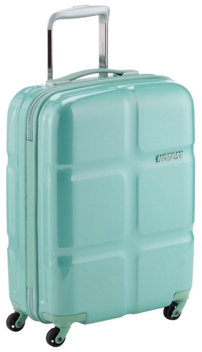 American Tourister Supersize Spinner 55/20 Maletas y trolleys, 55 cm, 32 L, Verde