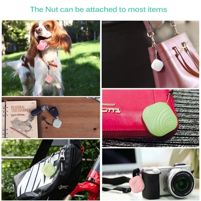 Yarrashop Mini Nut 3 Localizador y rastreador Bluetooth de llaves, móvil, cartera o mascotas, para Android e iOS
