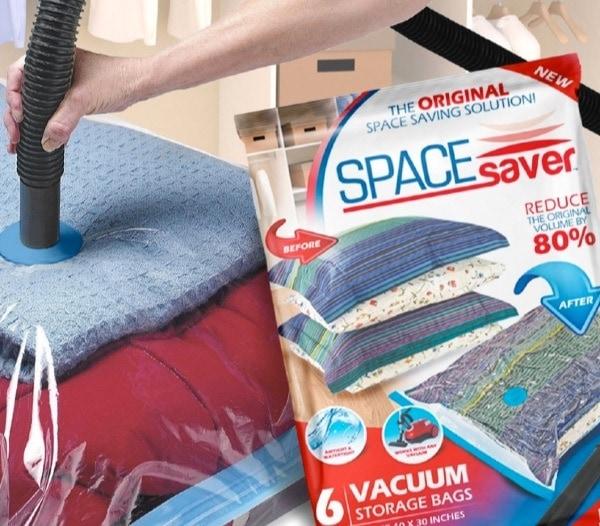 Bolsa de compresión para ropa de Space Saver