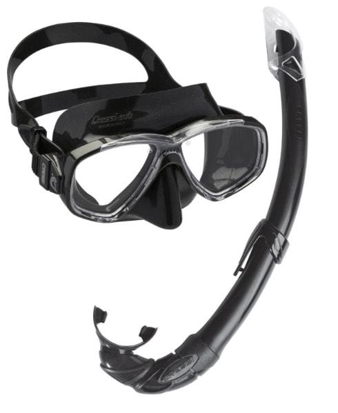 Cressi Sub S.p.A. Perla Mare - Máscara de buceo con tubo