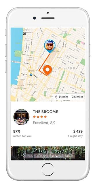 Booking Now, la app para reservar alojamiento en el último minuto