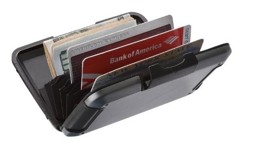 Cartera de aluminio con protección RFID para tus tarjetas y viajes