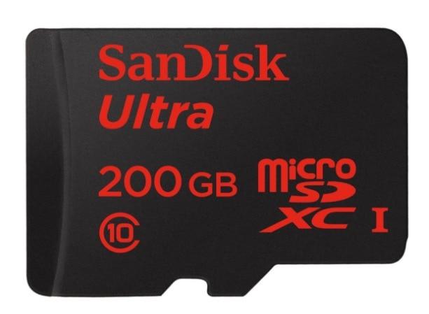 SanDisk SDSQUNC-200G-GZFMA – Tarjeta memoria microSDXC de 200 GB