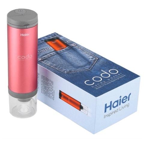 Haier Codo: mini lavadora portátil para tus viajes