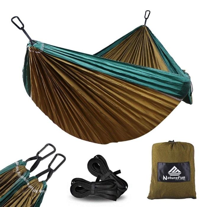 Hamaca de camping NatureFun en oferta por menos de 20 euros