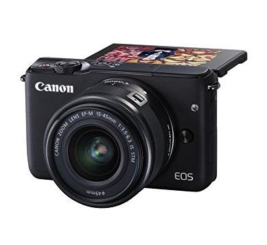 Canon EOS M10 – Cámara compacta en oferta por menos de 300 euros: perfecta para viajeros