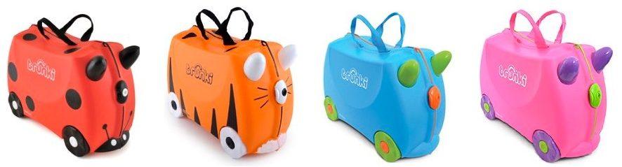 Oferta en maletas Trunki España para niños