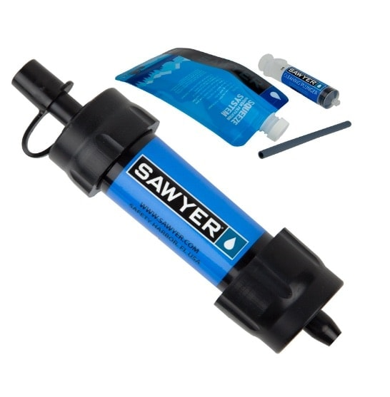 Sawyer - Sistema de filtración de agua (tamaño pequeño)