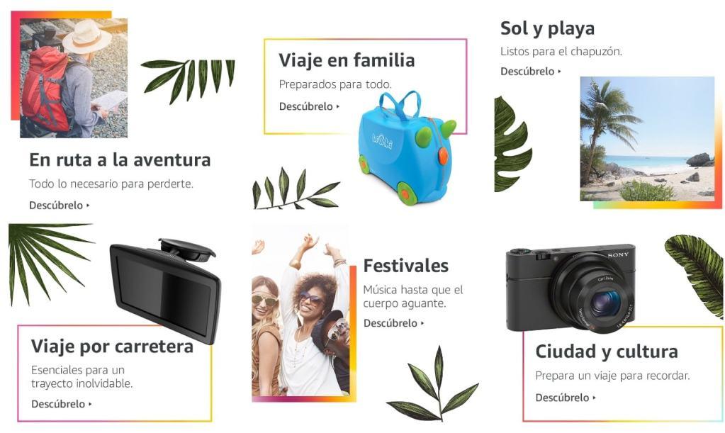 ¡Ojo! Es el mes del viaje en Amazon España