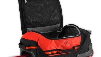The North Face Rolling Thunder, Mochila con ruedas, Negro