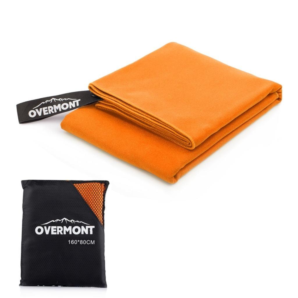 Toalla deportiva de secado rápido de Microfibra de Overmont