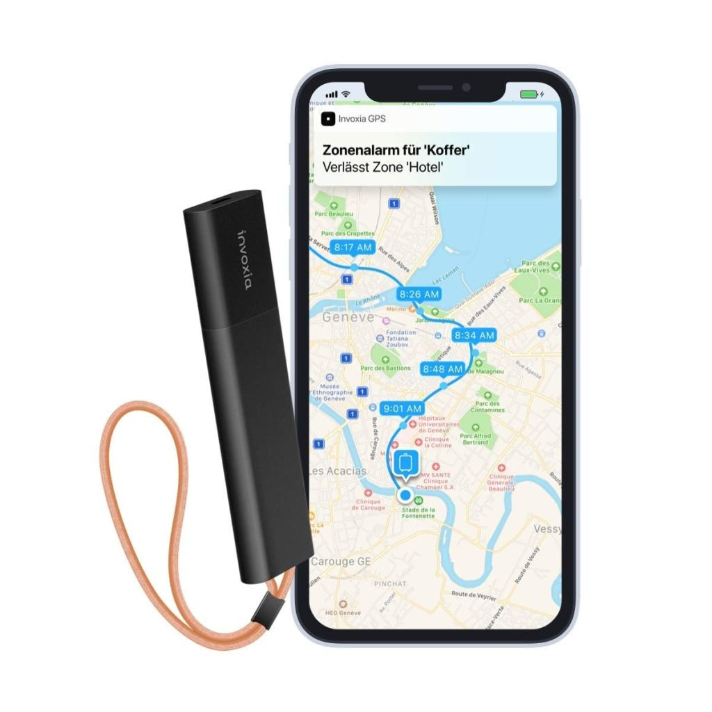Tracker GPS sin tarjeta SIM de Invoxia