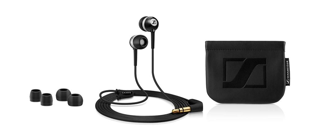 Sennheiser CX 300-II - Auriculares in-ear con reducción de ruido