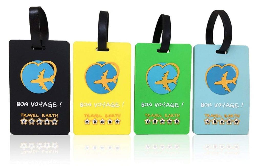 Etiqueta para maletas de Travel Earth