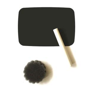 krijtbord sticker mini schoolbord