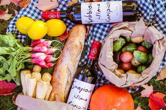 tips voor een super zomer ~ maak van een dekbed een picknickkleed