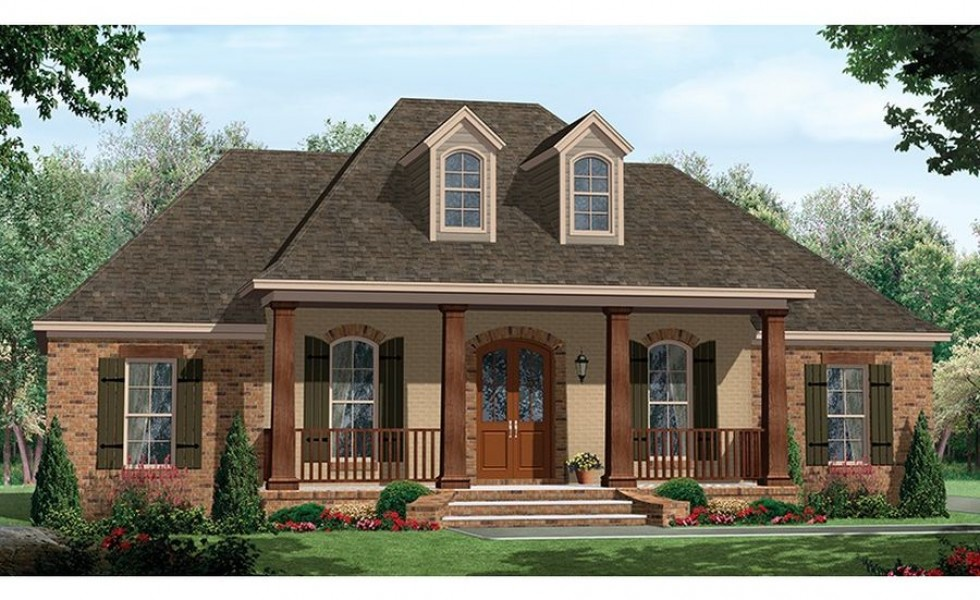23 Cool One Story House Plans With Porches