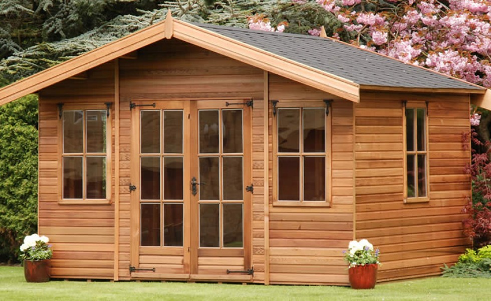 Contemporary summer house plans