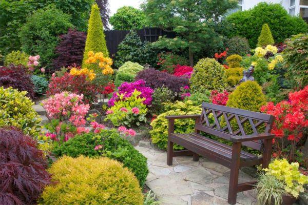 flower garden landscaping 10 Small Flower Garden Landscaping Ideas - Houz Buzz