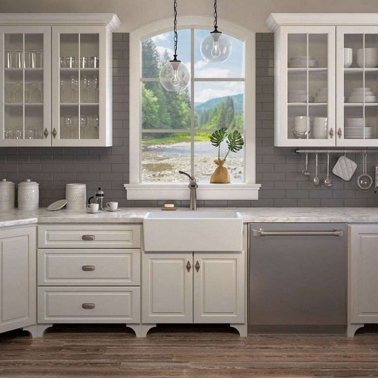 35+ Best Choices of Granite Countertops With White ... on Best Backsplash For Granite Countertops  id=58071