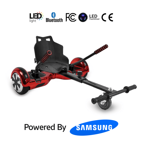Red Chrome Hoverboard