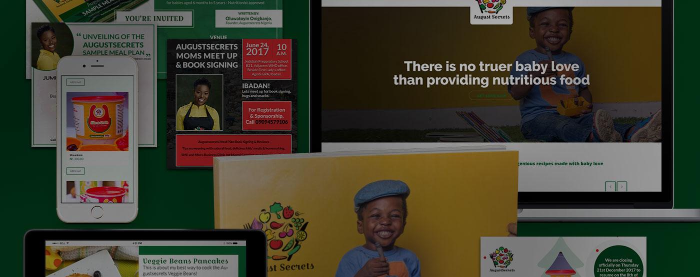 Brand Development Nigeria | AugustSecrets Case Study