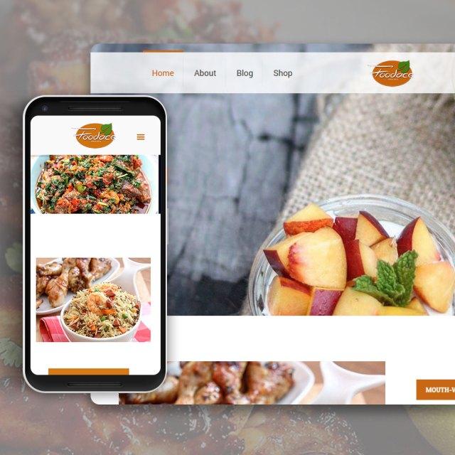 Foodace | Web Design Nigeria