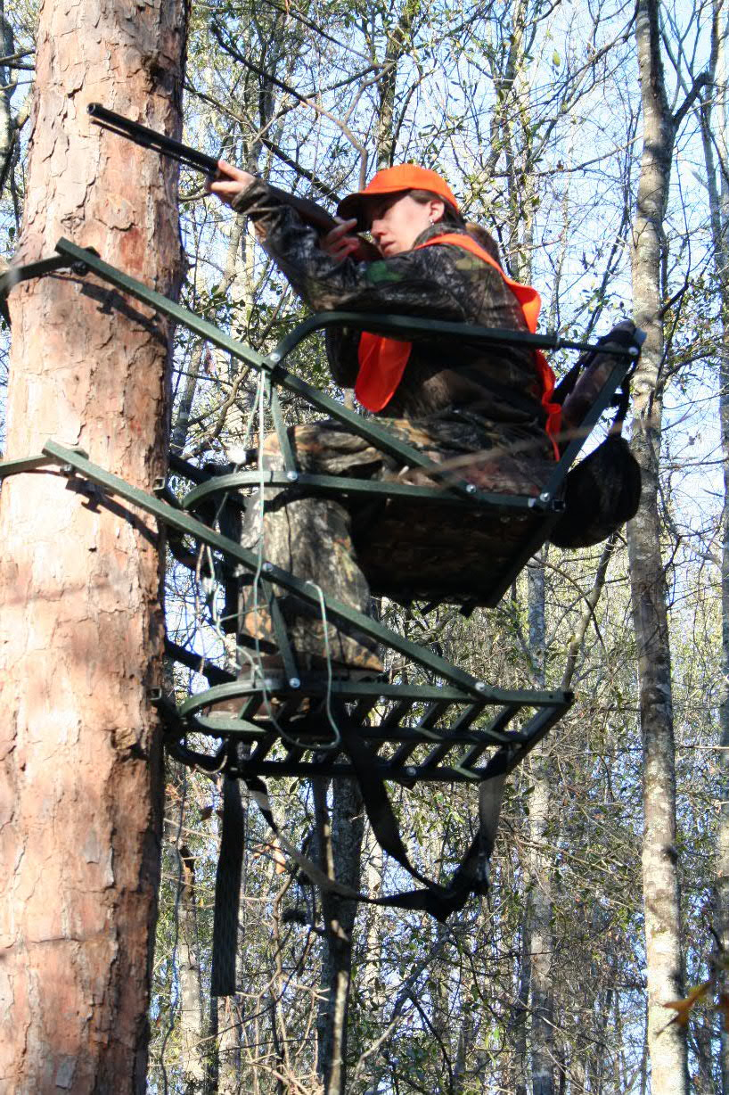 What Happened To Tree Lounge Tree Stands Backyard Deer