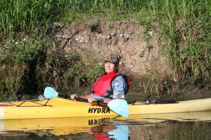 I wanted to experience what kayak boating was like and did on a 5-mile paddle.