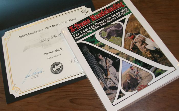 X-Treme Muzzleloading took a third place price at the Southeastern Outdoor Press Association's (SEOPA) 2013 meeting at Lake Charles, Louisiana.