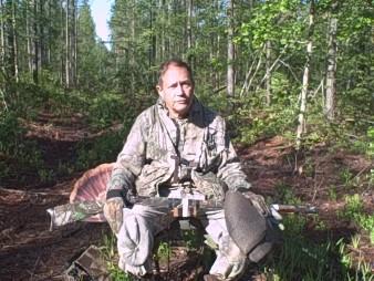 Hovey turkey hunting