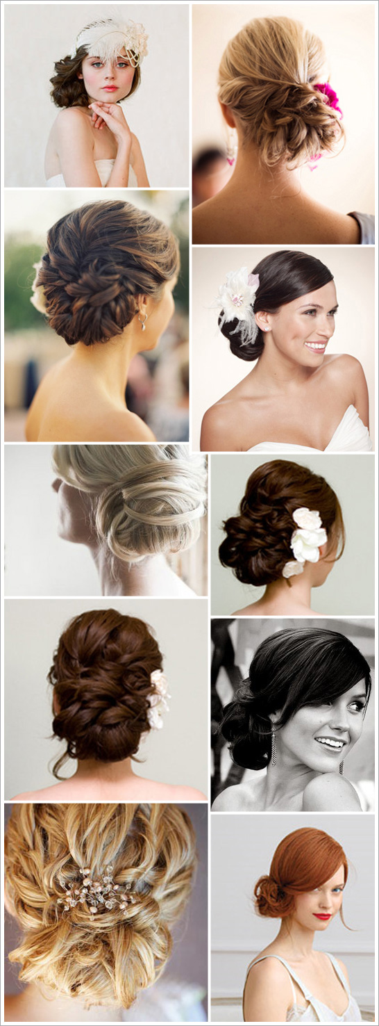beautiful textured updos