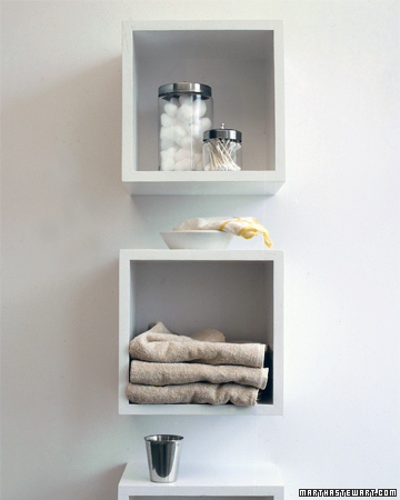 diy bathroom organization
