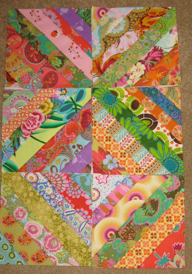 String Quilt Blocks Tutorial