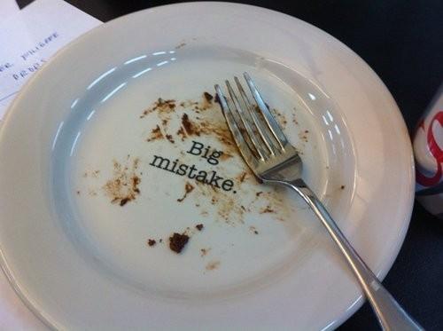 hilarious! For desert plates