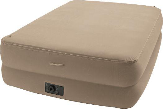 Cabela's: Intex® Memory-Foam Top Air Bed Kit Zoom. Cozy looking