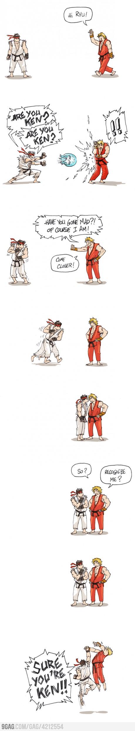 Just Street Fighter…