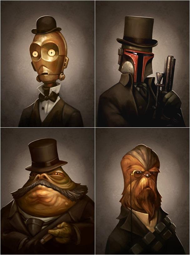 Victorian/steampunk Star Wars