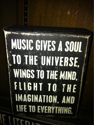 music is soul food