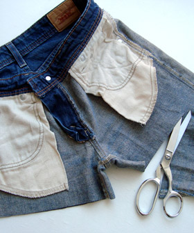 how to properly cut off jeans/pants to make shorts..ill be glad i pinned this la