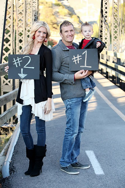 cute second baby announcement