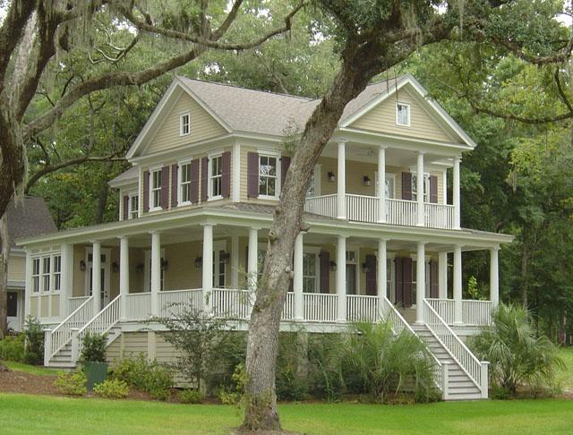 I miss Southern plantation style houses.