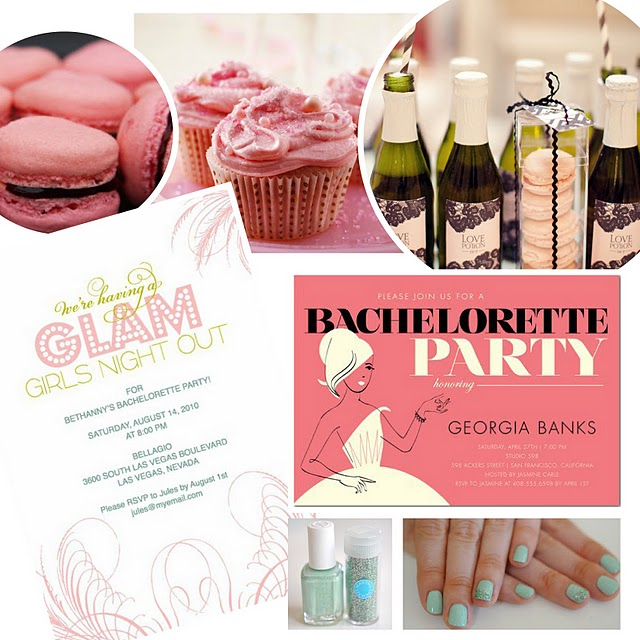 glam bachelorette party ideas