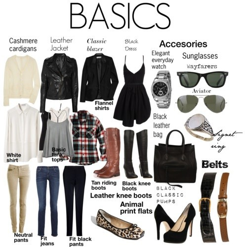 Fall wardrobe basics
